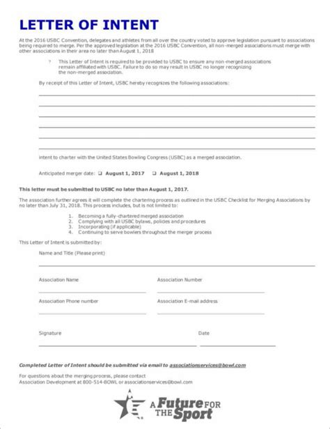 Sle Letter Of Intent In Bir letter of intent construction template 28 images free