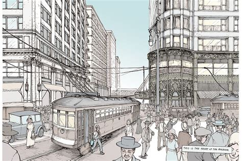 Novel Chicago chicago architecture graphic novel raises 20 000 in 10 days curbed chicago