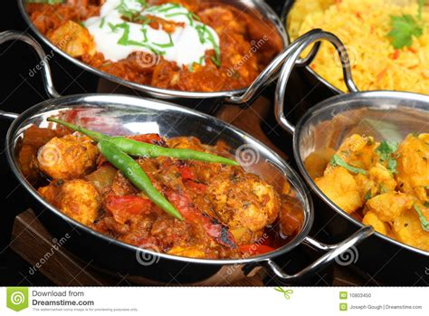 dishes with pictures indian curry dishes stock photo image 10803450