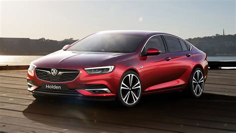 holden car 2018 holden commodore revealed car carsguide