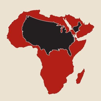 africa map vs usa us strategical interest in africa think research expose