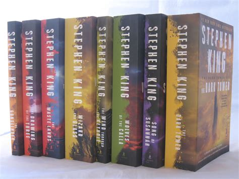 7 Book Series I by The Tower Series 1 7 Books By Stephen King Sand