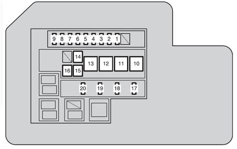 rav4 2009 fuse box defrost 26 wiring diagram images