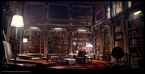 Elvish Home Decor kafka library by gryphart on deviantart
