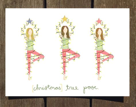 new yoga inspired holiday cards now available