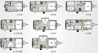 home design exles small house trailer floor plans palomino gazelle travel