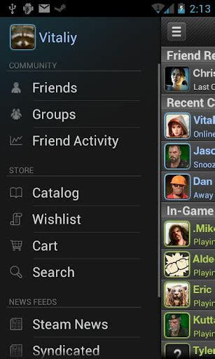 steam android valve launches official steam mobile app android rundown where you find the rundown on android