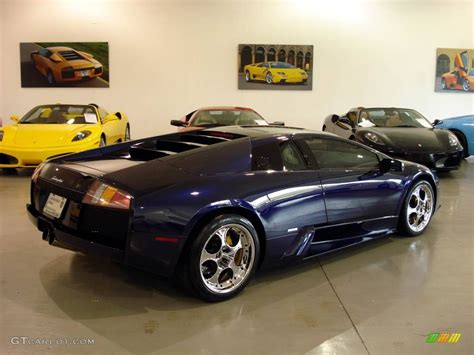Lamborghini Blue Color Code 2002 Scuro Blue Lamborghini Murcielago Coupe