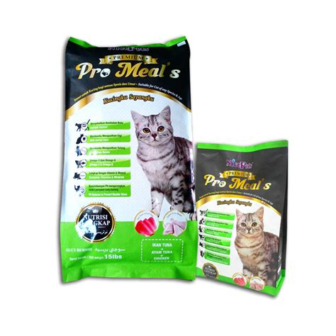 Pro Feline Premium 20lbs907kg nicepets premium pro meal s cat food tuna chicken xin yang aquarium and pets sdn bhd