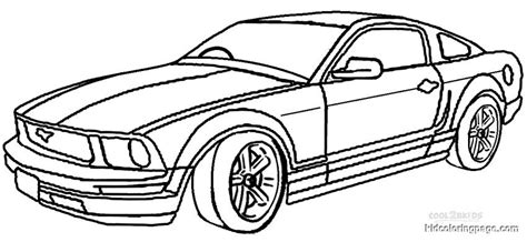 coloring pages of mustang cars mustang coloring pages bestofcoloring com