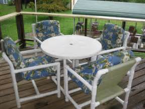 patio furniture pvc pvc patio furniture and outdoor deck furniture teak