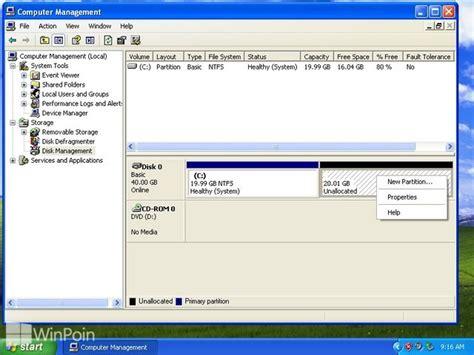 cara format ebook windows xp cara membuat menghapus dan format partisi hardisk di