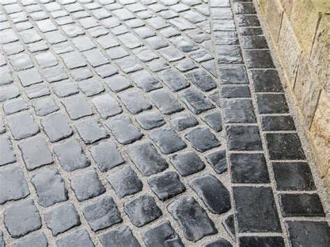 resin bound oakwell cobble driveway tong oakwell