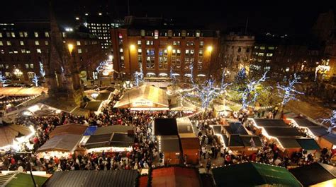 plymouth christmas market when does it open how long is