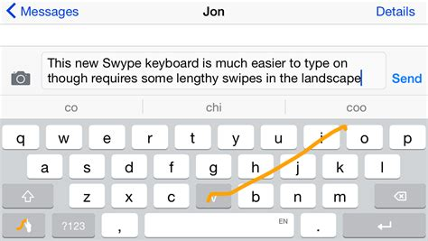 swype itunes swype keyboard review first round of third party apps