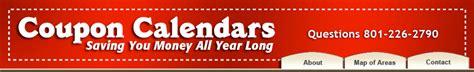 Coupon Calendar Utah Coupon Calendar