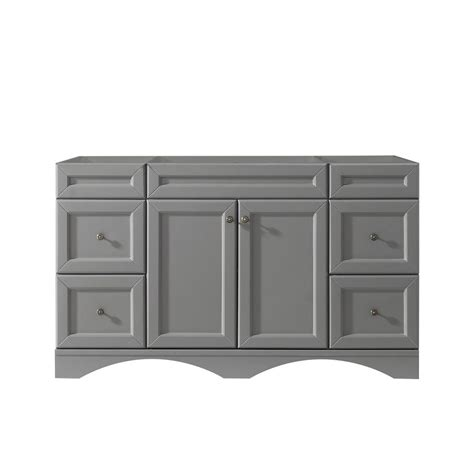 21 Vanity Cabinet by Virtu Usa Talisa 60 In W X 21 In D Vanity Cabinet Only