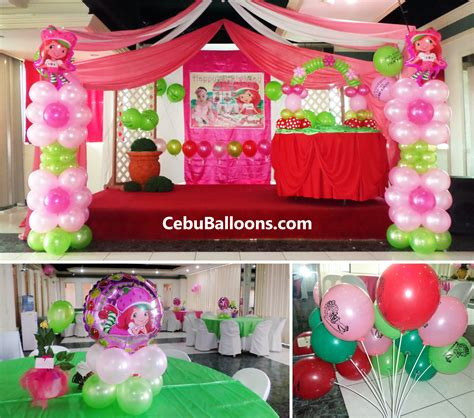 strawberry room strawberry shortcake cebu cake ideas and designs