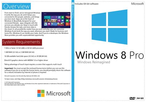 Dvd Win 8 1 Pro 64bit windows 8 pro 64 bit white dvd cover new ms logo by mandosis on deviantart