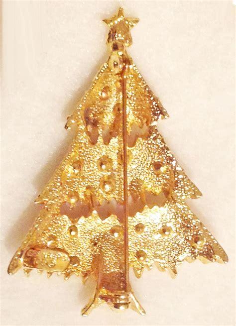 bedazzled christmas tree lights eisenberg ice christmas tree pin christmas decore