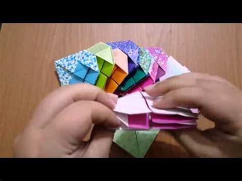Yenyen Tulip origami折り紙 摺紙教學 cherry チェリー 櫻花 doovi