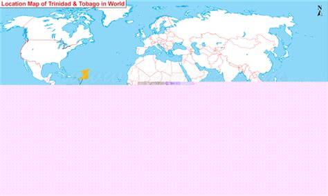 and tobago on the world map 28 where is and tobago located on the world map