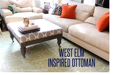Make Your Own Ottoman West Elm Ottoman Look Alike Make Your Own Sloan
