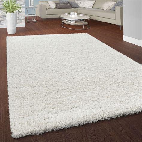 tappeto shaggy bianco pile tappeto soffice universale colori bianco tapetto24