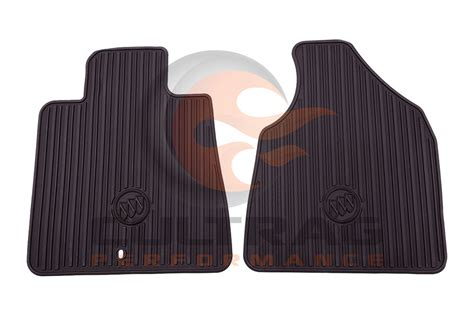 Buick Enclave Floor Mats by 2011 2017 Buick Enclave Genuine Gm Front All Weather Floor