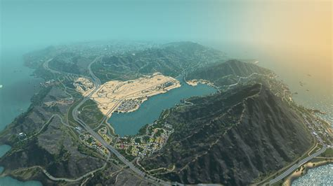 world map cities skylines gta 5 s los santos recreated for cities skylines and it