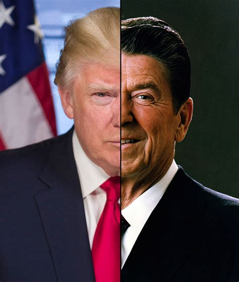ronald reagan donald trump political parallels from reagan to trump featuring m d