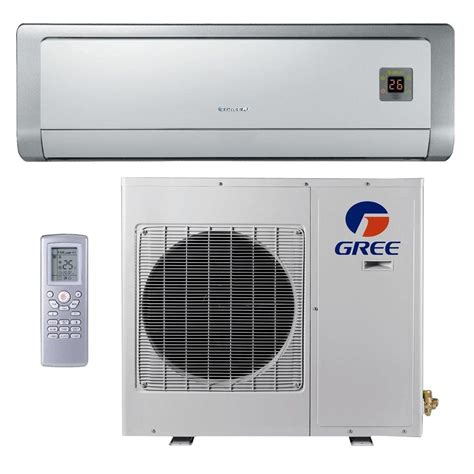 gree premium efficiency 12 000 btu ductless mini split air