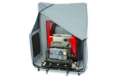 How To Store Jeep Top Bestop 42806 01 Bestop Hoss Jeep Hardtop Storage System