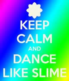 Dance Wall Stickers keep calm and dance like slime keep calm and carry on