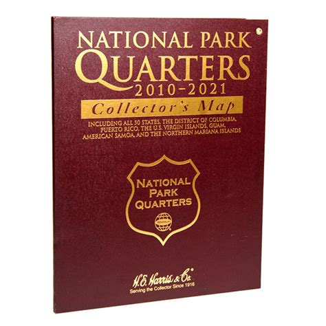national park quarters collector map 2010 to 2021 includes a bonus san francisco s minted coin books harris national park quarters collector s map cointown