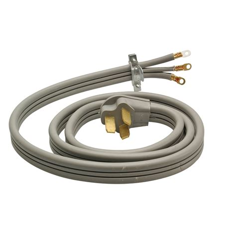 3 Wire L Cord by Electricord 49616 3 Wire 6 Ft Electric Range Cord