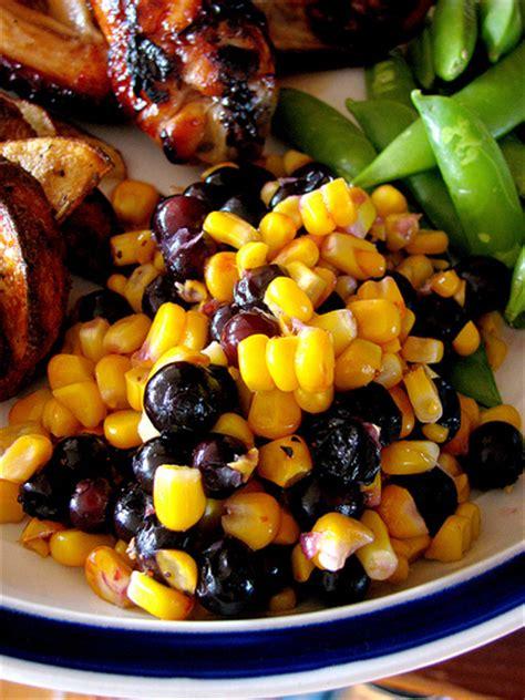 blueberry corn salad recipe dishmaps