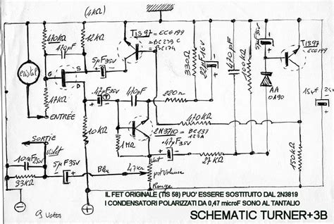awesome turner microphones wiring diagrams photos