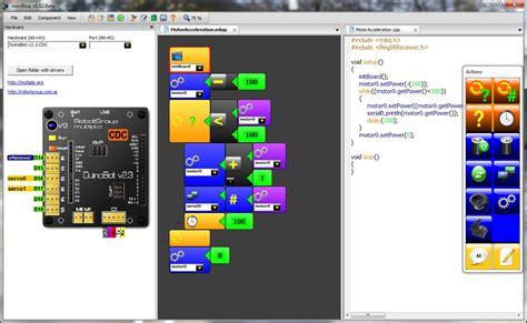 minibloq ide para aprender a programar robots neoteo
