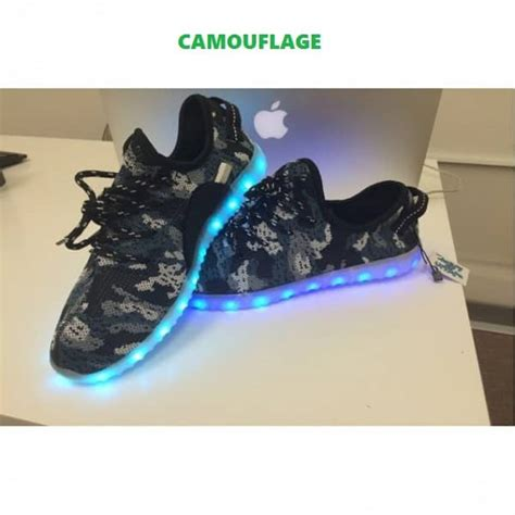Adidas Yeezy Led Shoes adidas yeezy led blinking light shoes camouflage shopse pk