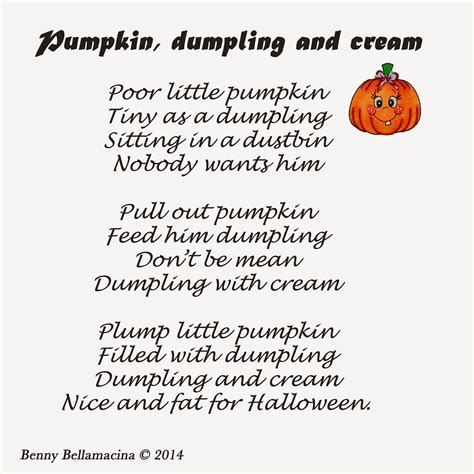 pumpkin poems piddly poems