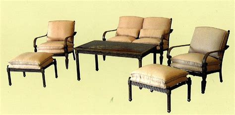 Hton Outdoor Furniture by Hton Bay Verrado Patio Set Replacement Cushions 28