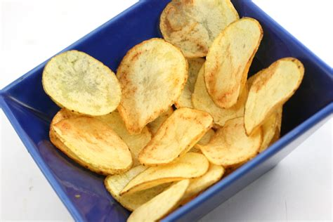 Handmade Crisps - how to make potato chips using safflower 7 steps