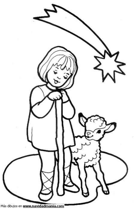 Dibujos Navidenos A Color #2: Pastor01.jpg1_.jpg