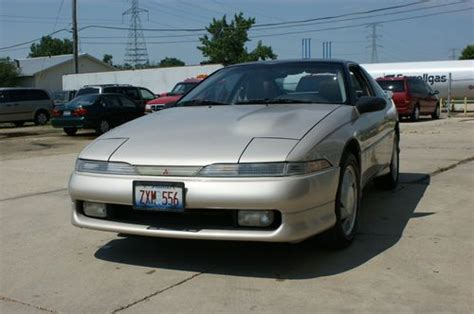 mitsubishi eclipse 1991 interior sell used 1991 mitsubishi eclipse gsx hatchback 2 door 2