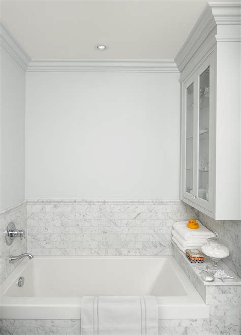 drop  tub ideas transitional bathroom emily hollis