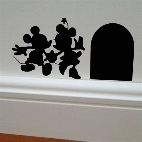 mickey and minnie mouse home decor aliexpress com buy mickey and minnie house vinyl diy