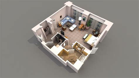 floor plan 3d design suite studio apartment layout ideas 460 sq ft joy studio