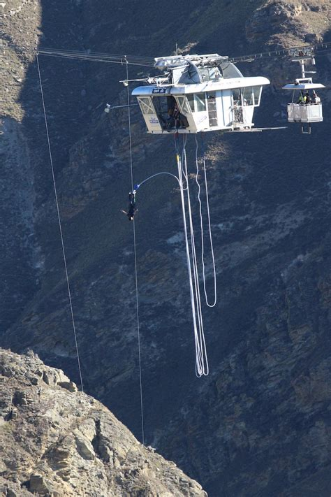 bungee swing 440 foot bungy vs 394 foot swing which one would you do