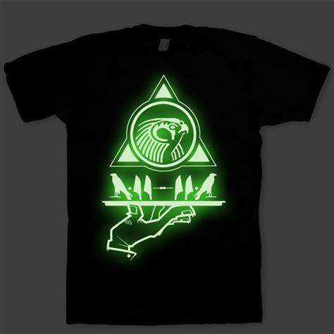 design t shirt glow in the dark signature quot now serving horus quot glow in the dark t shirt by